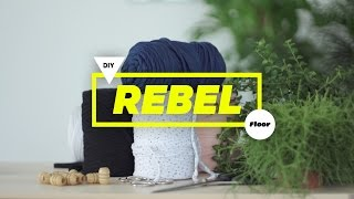 Floor - DIY Rebel - macraméhanger