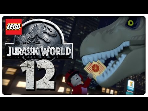Let's Play LEGO JURASSIC WORLD Part 12: T-Rex in San Diego | Jurassic Park 2 The Lost World Finale