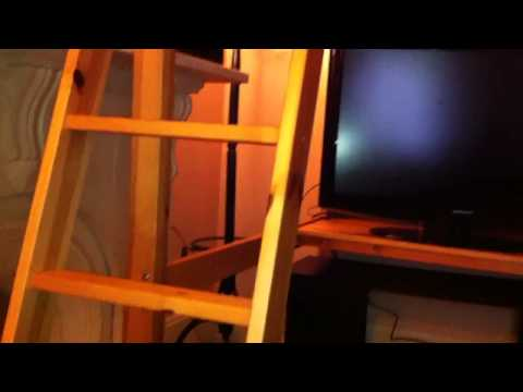Ikea stora loft bed how to make do everything for Ikea stora loft bed weight limit