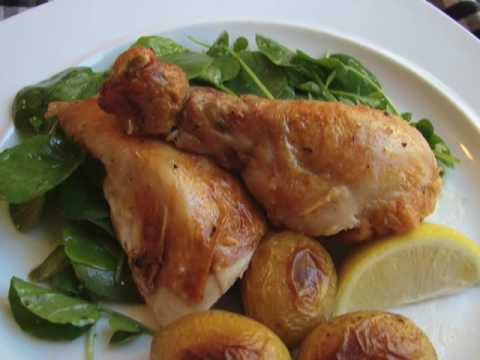 Julia Child's Roasted Chicken - Roast Chicken Recipe