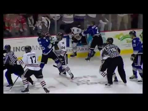 Steven Hodges vs Dominic Turgeon Apr 10, 2014 & Joe Hicketts vs Derrick Pouliot Apr 10, 2014