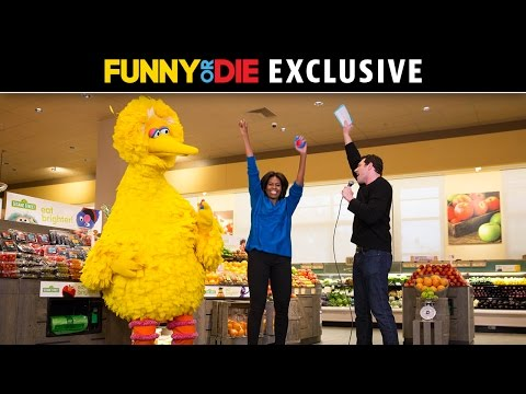Billy On The Street with First Lady Michelle Obama, Big Bird, And Elena!!!