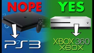 Why PS4 Doesn't Have Backwards Compatibility and Xbox One Does. - FULLY EXPLAINED