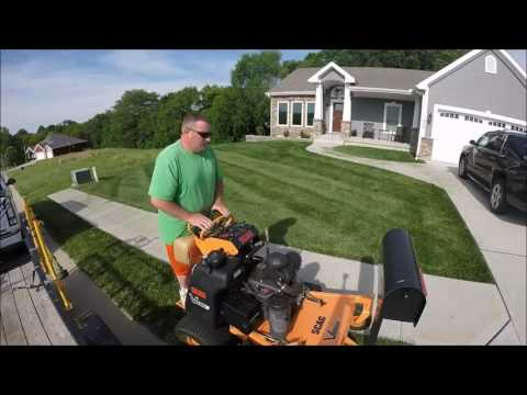 Lawn Care, Double cutting Lawns