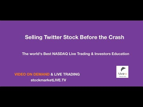NASDAQ Live Trading Sell Twitter at $73 Ahead of Stock Crash