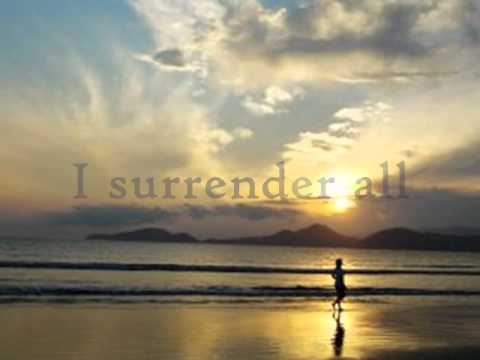 I Surrender All (piano & Instrumental W lyrics) video