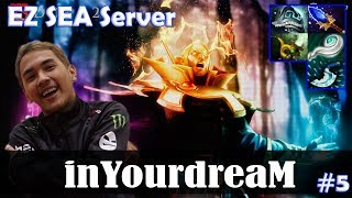 inYourdreaM - Invoker MID | EZ SEA Server | Dota 2 Pro MMR Gameplay #5