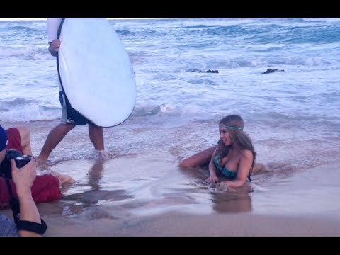 Beach Bikini FOOD PORN photo shoots in HONOLULU