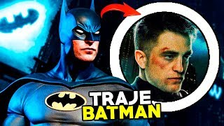 Así será el TRAJE de PATTINSON en THE BATMAN *REVELADO*