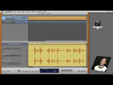Editing audio files in garageband macmost now 351 youtube