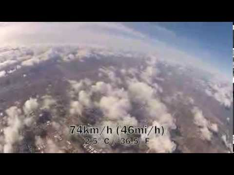 Stunning GoPro Weather Balloon Photography - The Webb Schools Unbounded Days 2014 - 03/07/2014