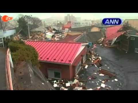 Die Japan-Katastrophe als 'Musikvideo' im heute journal vom 12. März