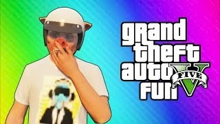 GTA 5 Online Funny Moments - Truck Flip Glitch, Beefy Bills, Mountain Rescue, Kidnapped by a Pig!