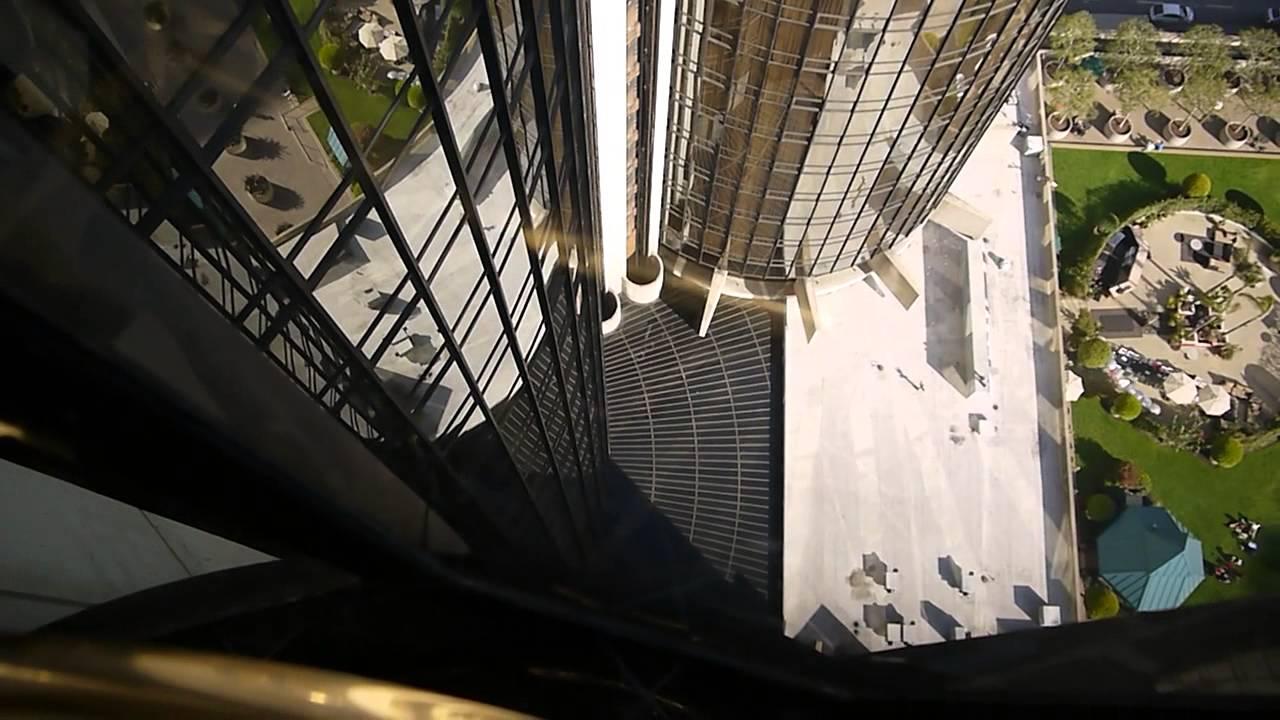 Westin Bonaventure Elevators at The Westin Bonaventure