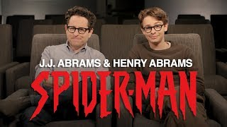 J.J. Abrams & Henry Abrams' Spider-Man Announcement | Marvel Comics