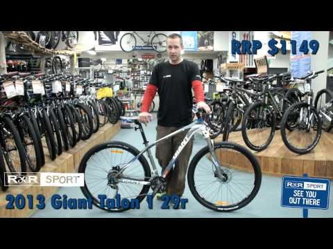 2013 Giant Talon 29er 1 Mountain Bike Review