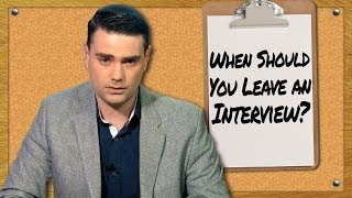 When Should You Leave An Interview?