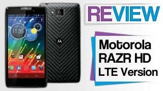 Motorola RAZR HD LTE Review - Smartphone Test - deutsch/german
