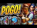 Who doesn't like 5 Spirit of the Shark in THEIR DECK?! | Buffed Pogo Rogue | Rise of Shadows | HS