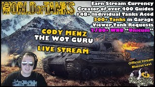 World of Tanks Live Stream [WoT Guru] [English - NA] [376 Tanks] [Viewer Tank Requests] 03/04/2018