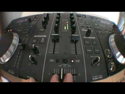 Pioneer 350 series. Video 1 loop divide and effects