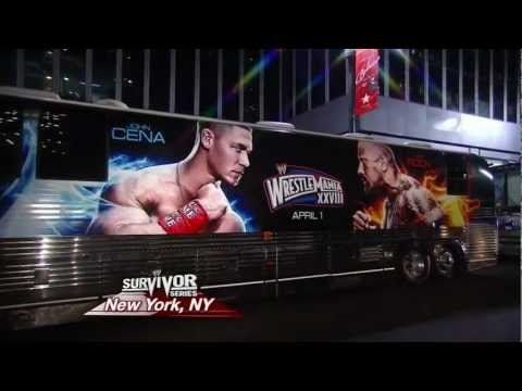 JOHN CENA vs THE ROCK Wrestlemania XXVIII (Double Trailer / TDKR parody)
