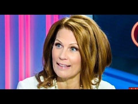 Michele Bachmann's Creepy 'Moses' Farewell Speech