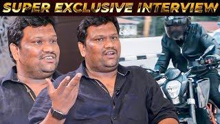 Kadaram Kondan Bike Stunt Scene Making - Director Rajesh M Selva Exclusive Interview|Chiyaan Vikram