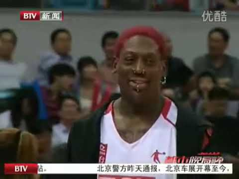 Allen Iverson vs Stephon Marbury in China 28 Apil 2012