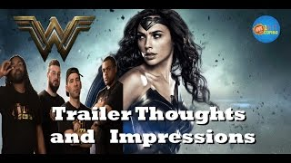 Wonder Woman Trailer: Thoughts and Impressions