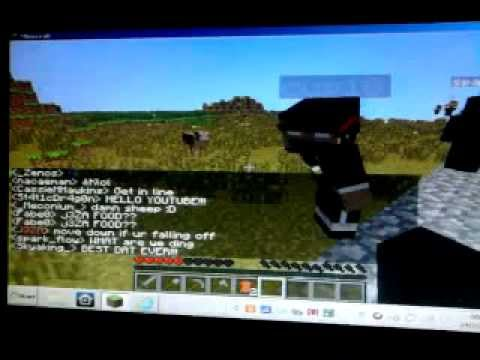 Me on the TAG Skyblock Party (1/2) (bad quality and no sound)