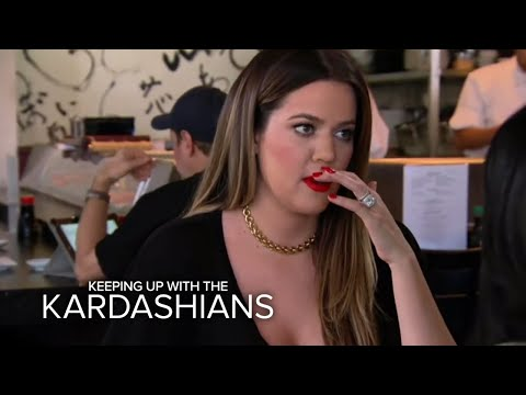 Khloe Freaked Out By All the Drama | Keeping Up With the Kardashians | E!