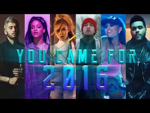 YOU CAME FOR 2016   Year End Mashup (Megamix) // by Adamusic