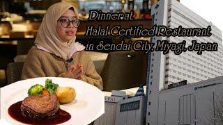 Halal certified restaurant tour in JAPAN : Halal steak???