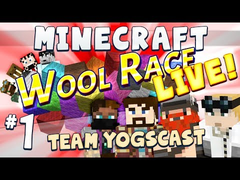 Wool Race: Tangled Live [Team Yogscast] Part 1