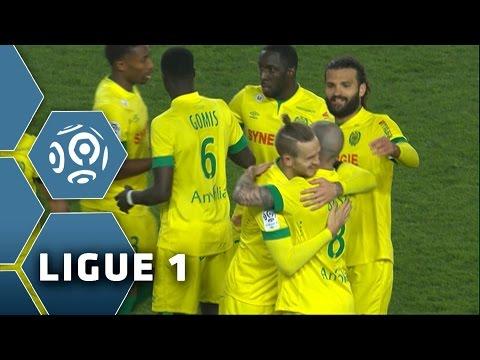 FC Nantes - Evian TG FC (2-1) - Highlights - (FCN - ETG) / 2014-15
