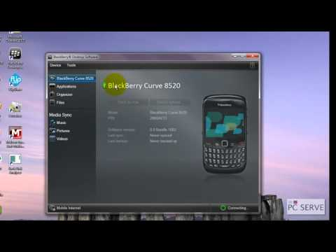 PC Serve How to Backup Restore Data on BlackBerry