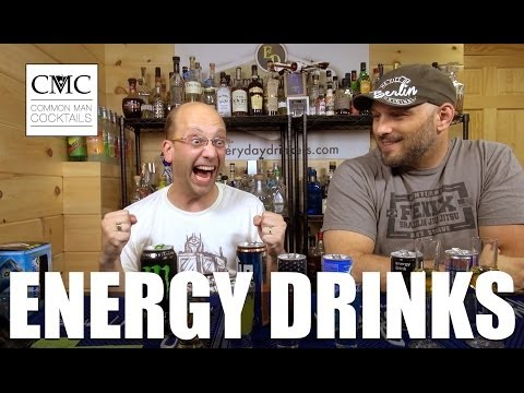 Energy Drinks Review: Liquid Ice, Awaken Thunder, NOS, Red Bull and More!