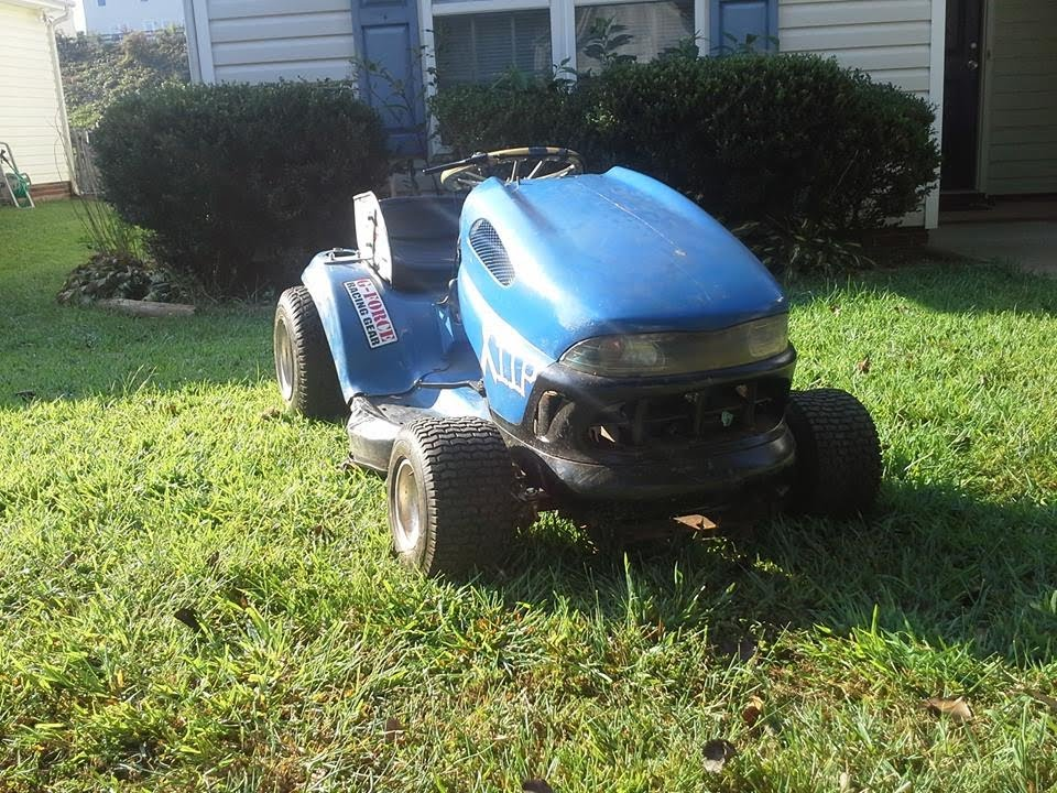 Racing Lawn Mowers For Sale >> Racing lawn mower test - YouTube