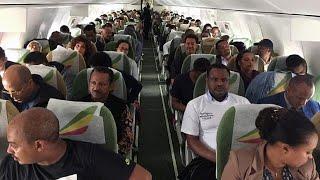 Historic Ethiopian flight welcomed in Eritrea with cheers