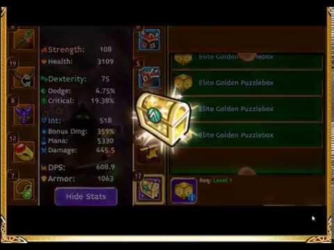 Arcane Legends - Elite Golden Puzzleboxes