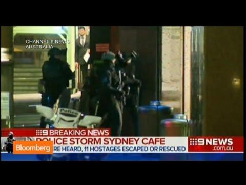 Sydney Siege: Raw Video Shows Police Storm Cafe