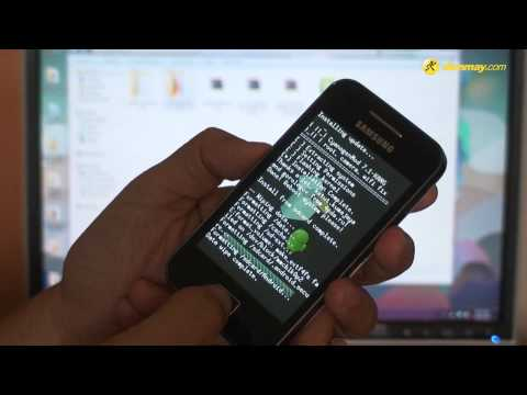 Samsung Galaxy ACE - CWM Recovery Tutorial