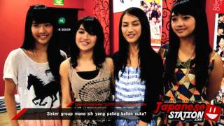 Japanese Station - Special Interview JKT48 Member (Beby, Nabilah, Melody, Sendy)