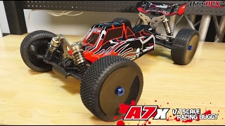 Team Energy A7X 1/7th Scale RC Brushless Powered Buggy Overview