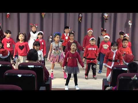 2020一年一班聖誕歌曲表演