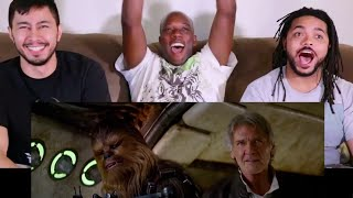 STAR WARS The Force Awakens Teaser Trailer #2 Reaction with Syntell, Chuck, and Anthony