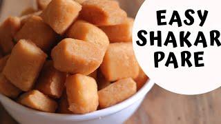 Shakarpara Recipe in Hindi | शक्कर पारा रेसिपी (Easy Method)