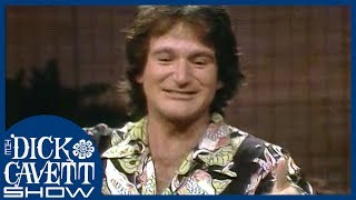 Robin Williams Performs a Variety of Accents | The Dick Cavett Show