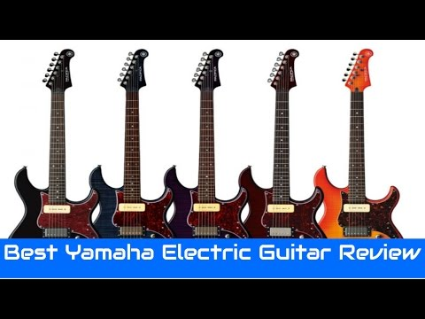 8 Best Yamaha Electric Guitar Review 2017